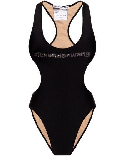 Czarny strój kąpielowy Alexander Wang