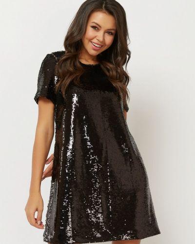 Вечернее платье осеннее черное Verna Sebe