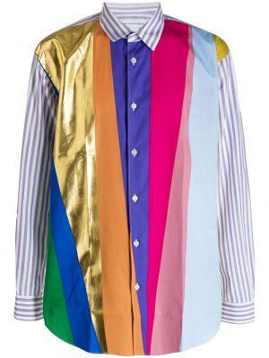 Koszula z długim rękawem klasyczna wyposażone Comme Des Garcons Shirt