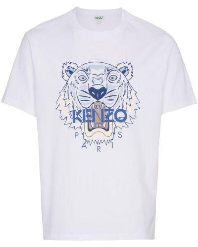 Белая футболка Kenzo