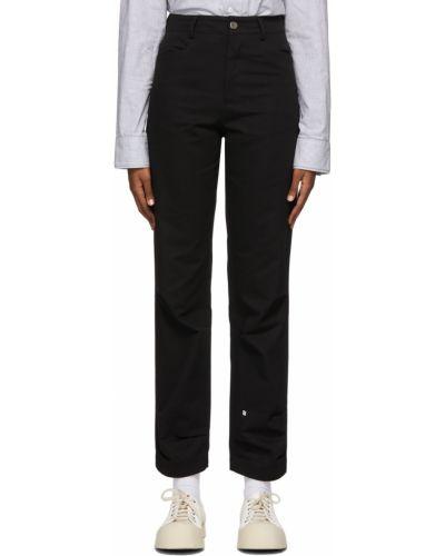 Spodnie bawełniane - białe Ader Error