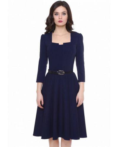 Синее платье осеннее Olivegrey