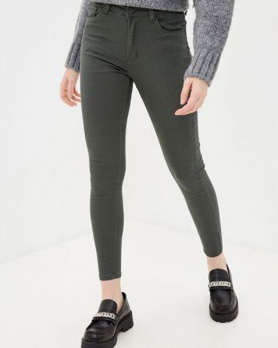 Повседневные зеленые брюки Tantra