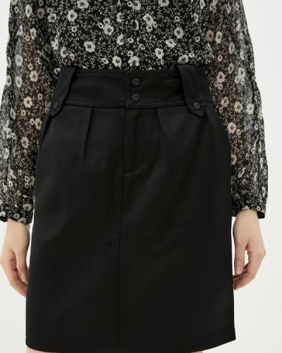 Прямая черная юбка карандаш Scotch&soda