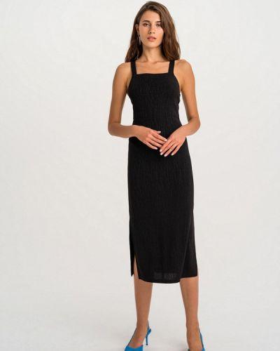 Черное вечернее платье Befree