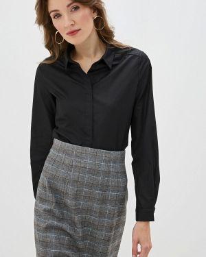Рубашка с длинным рукавом черная Sweewe