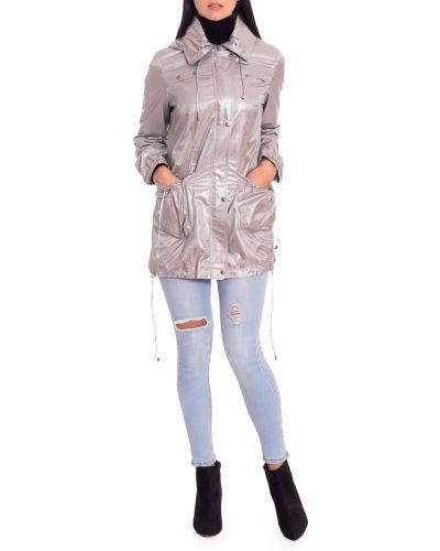 Куртка с капюшоном облегченная серебряный Lacywear