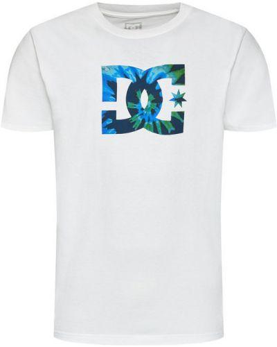 Biały t-shirt Dc