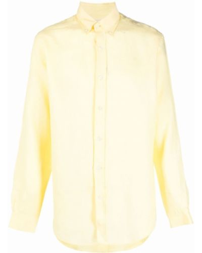 Żółta koszula z długimi rękawami Bluemint