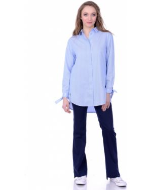 Классические брюки расклешенные в стиле бохо Lautus
