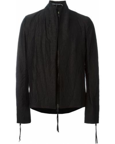 Куртка черная льняная Cedric Jacquemyn