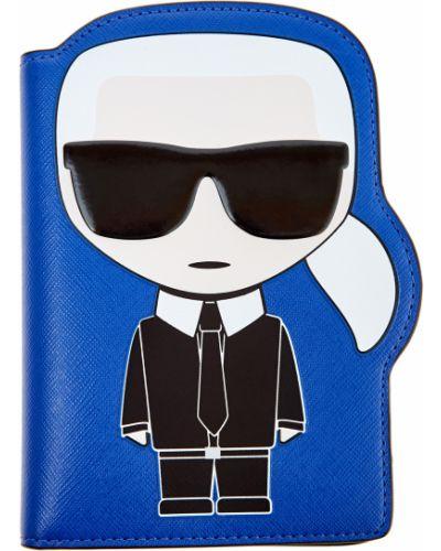Брелок кожаный Karl Lagerfeld