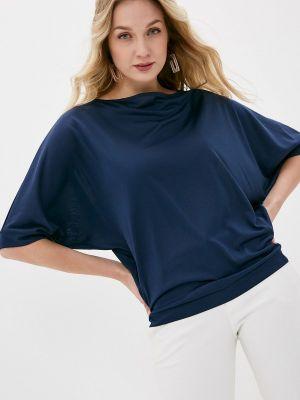 Синяя блузка с длинными рукавами Gabriela