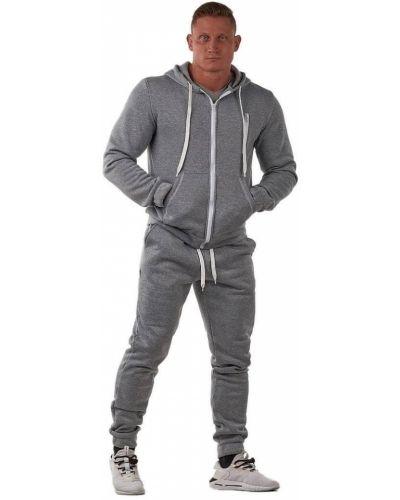 Флисовый спортивный костюм - серый Rozetka