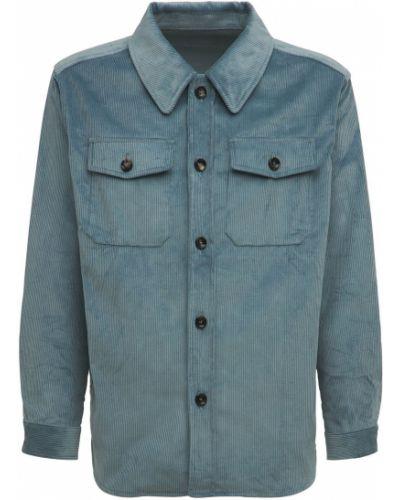 Niebieska kurtka bawełniana Lc23