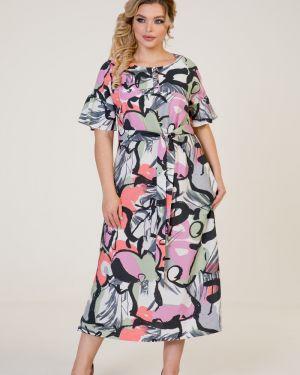 Платье миди на пуговицах марита