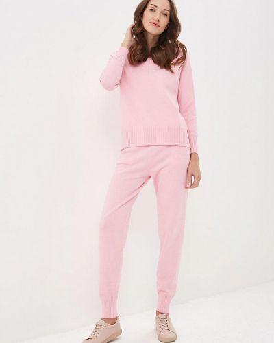 Розовый костюм вязаный Trendyangel