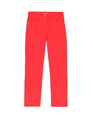 Хлопковые джинсы - красные Patrizia Pepe