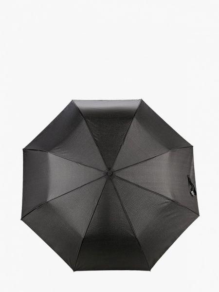 Черный складной зонт Lamoda