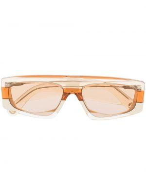 Pomarańczowe okulary Jacquemus