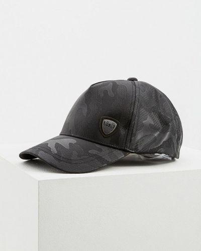 Черная бейсболка Ea7