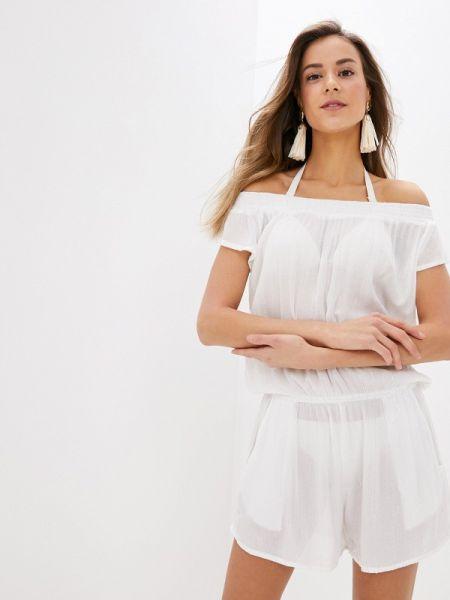 Белый комбинезон с шортами Indiano Natural