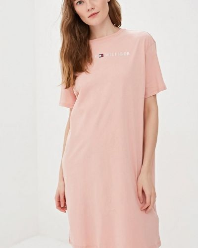 Платье розовое весеннее Tommy Hilfiger