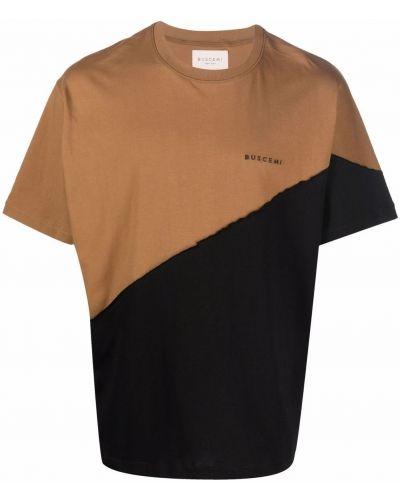 Czarna koszulka krótki rękaw Buscemi