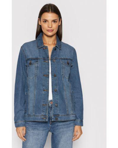 Niebieska kurtka jeansowa Noisy May