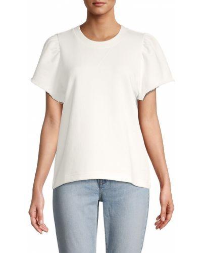 Белая джинсовая кофта Rebecca Minkoff