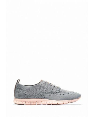 Кожаные кроссовки - серые Cole Haan