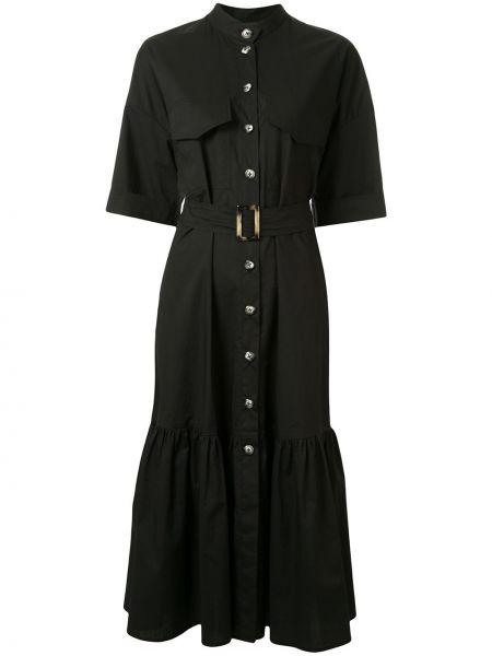 Платье миди на пуговицах с поясом Ginger & Smart