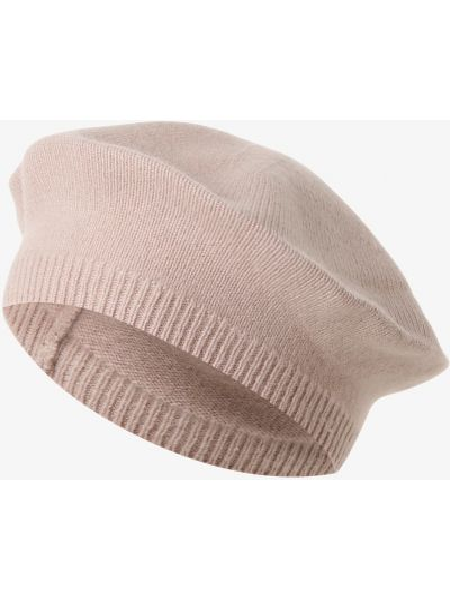 Różowa z kaszmiru czapka Apriori