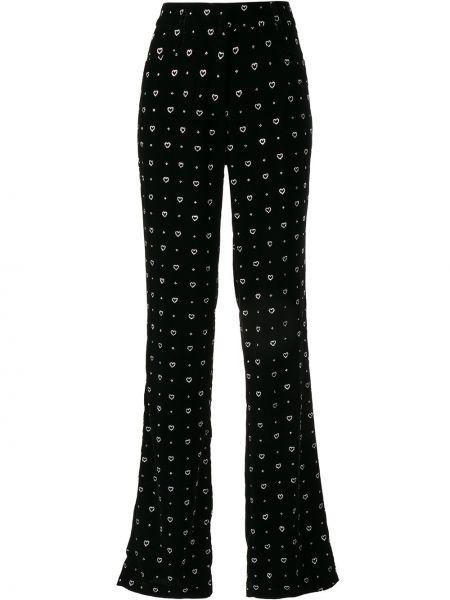 Черные брюки с поясом Paul & Joe