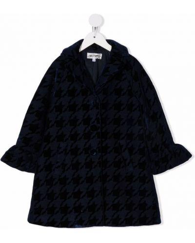 Czarny płaszcz wełniany Simonetta