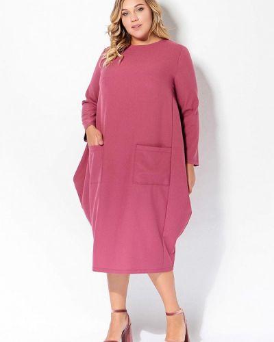 Повседневное розовое платье Tutto Bene Plus