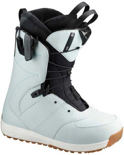 Белые ботинки на шнуровке Salomon