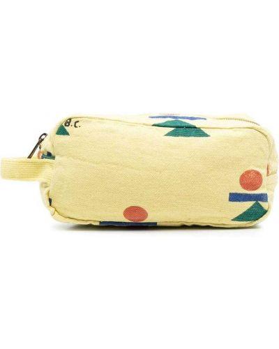 Желтый с ремешком клатч на молнии Bobo Choses