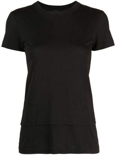 Хлопковая футболка - черная Vera Wang