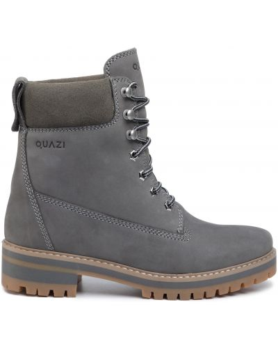 Ботинки - серые Quazi