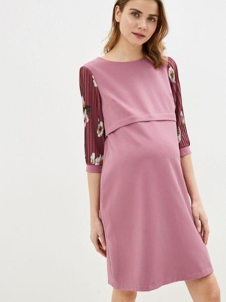 Платье - розовое мамуля красотуля ..в ожидании чуда