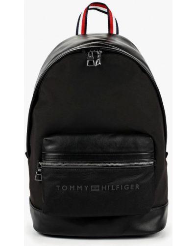 Черный рюкзак городской Tommy Hilfiger