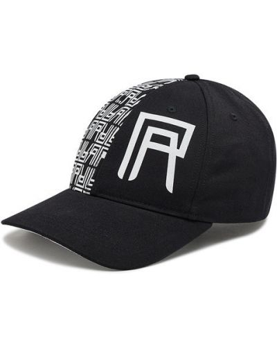 Czarna czapka z daszkiem Rage Age