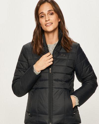 Черная нейлоновая стеганая куртка с запахом Under Armour