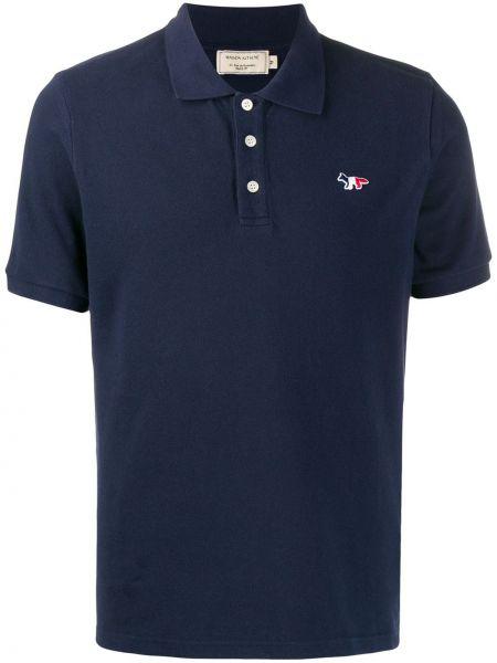 Koszula krótkie z krótkim rękawem klasyczna z logo Maison Kitsune