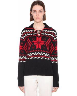 Sweter ażurowy z kołnierzem Polo Ralph Lauren