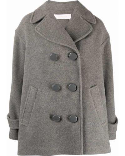 Пальто оверсайз - серое See By Chloé