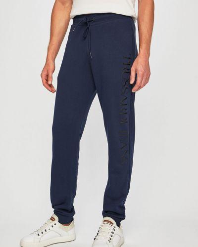 Spodnie na gumce długo z polarem Trussardi Jeans