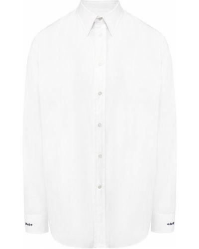 Рубашка с длинным рукавом белая с вышивкой Polo Ralph Lauren