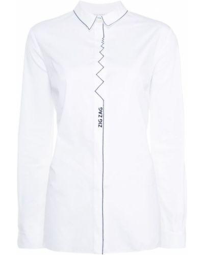 Белая рубашка Vionnet